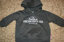Majestic Therma Base Chicago White Sox Hooded Sweatshirt Hoodie 6-9M