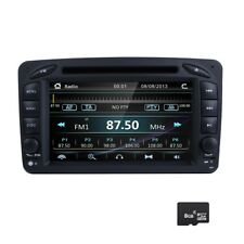 "7"" Car DVD Player GPS For Mercedes Benz C-CLASS CLK W209 W203 GPS Radio 8G Map"