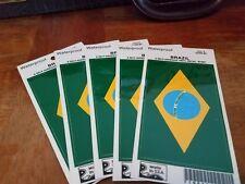 Vinyl decal-Brazil Flag