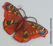 Plauener spitze Fensterbild Sommer Fensterdekoration Schmetterling Frühling