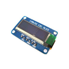 "0.91"" SSD1306 128x32 I2C OLED Module White Graphic Display Monochrome"
