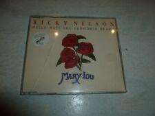 RICKY NELSON - Hello Mary Lou - Deleted 1991 UK 4-track CD single