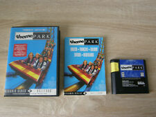 Theme Park (complete) - Sega Mega Drive
