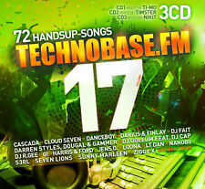 CD technobase.fm vol.17 d'Artistes Divers 3cds