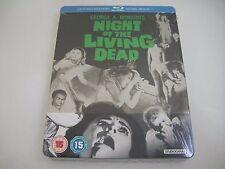 Night Of The Living Dead (1968) - Limited Steelbook Blu-Ray Region B