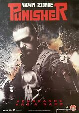 WAR ZONE PUNISHER 2008 Original promotional marvel knight action movie poster