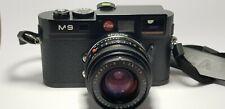 Leica M9 18.0MP Digital Camera - Black (Kit w/ 28mm Lens)