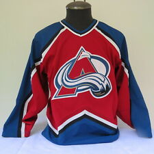 Colorado Avalanche Jersey (VTG) - Full Crested without Number - Men's Small