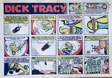 Dick Tracy by Chester Gould - large half-page color Sunday comic - Dec. 15, 1968