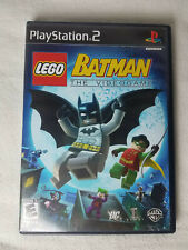 LEGO Batman: The Videogame (Sony PlayStation 2, 2008) PS2