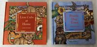 Lion Cubs at Home and Prairie Dog Town Pop Up Book by Donald M. Silver
