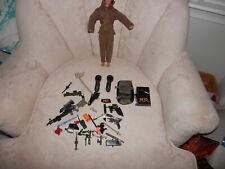 "1994 Hasbro G.I.Joe M.P. American Solider Action Figure Scar Face 12"" extras"
