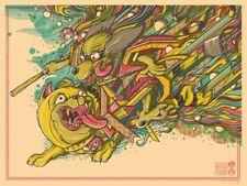 Hong Kong Phooey by Drew Millward Ltd x/200 Screen Print Poster Art MINT Mondo
