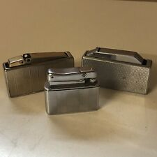 More details for 3 x colibri lighters [untested, one damaged] (a1)