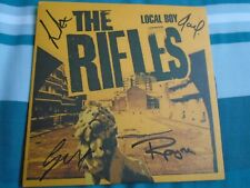"SIGNED THE RIFLES LOCAL BOY 7"" VINYL PART 2-MINT"