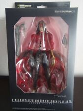 Final Fantasy VII VINCENT VALENTINE Advent Children Play Arts Acition Figure NIB