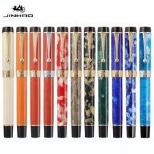 Jinhao 100 Centennial Acrylic Fountain Pen Fine Nib 0.5mm Writing Office Gift #w