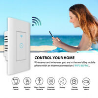 Smart Wifi Light Wall Switch Touch Remote Controller For Alexa Google Home US