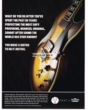 2008 VOX Virage Electric Guitar advertisement