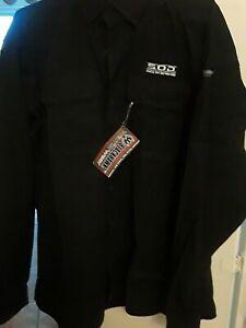 NWT Blackhawk Warrior Wear Black Tactical Shirt Weaver Embroidery Size XL