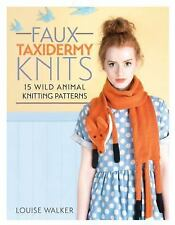 F&W Media David and Charles Books Faux Taxidermy Knits by Walker, Louise