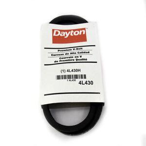 Dayton 4L430 V-Belt 43 In Outside Length x 1/2 In x 5/16 In