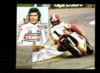 Giacomo Agostini Autogrammkarte Original Signiert Motorsport + A 155289