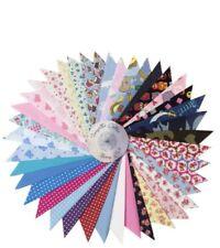 Mixed Craft Fabric Value Bundle Job Lot Material Scraps off Cuts 100 Cotton Mix