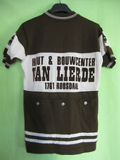 Maillot Cycliste vintage Roosdaal WKY Van Lierde Acrylique Laine 70'S jersey - M