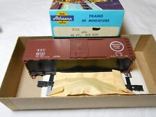 HO TRAIN ATHEARN 40' STEEL RIVETED BOXCAR KIT ATLANTIC COAST LINE ACL MINT!