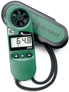 Kestrel 2000 Wind Speed +Temperature Meter - PN# 0820