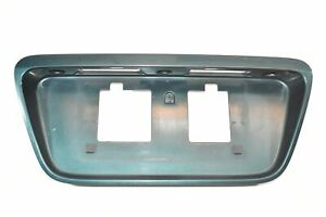 99 00 Honda Civic Trunk Rear License Plate Lid Trim Molding Sedan Green G95P4