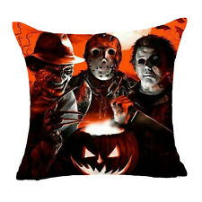 Halloween Cushion Cover Freddy Jason Michael Myers