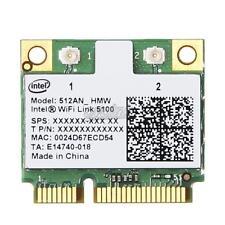 Dual Band Intel Wifi Link 5100 512AN_HMW Mini PCI E AGN Wireless Card