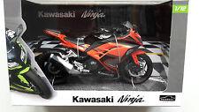 Kawasaki Ninja 300 rojo/negro Automaxx Modelo De Motocicleta,1:12