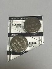 2 X Energizer Cr2430 Batteries Fresh Same DAY SHIPPING