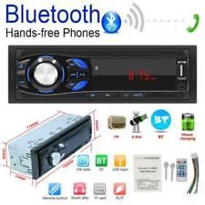 1 DIN Car Stereo MP3 Player AUX USB TF Card U Disk FM Radio In-dash Head Unit