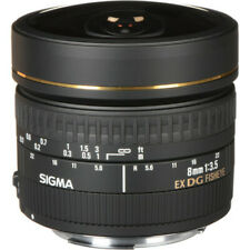 Sigma 8mm f/3.5 EX DG Circular Fisheye Lens for Canon EF