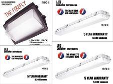 LED Utility Shop Light Ultimate Package Instant-On Garage Work Shop Area 4 PACK!
