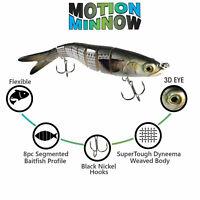 9.5 Inch Segmented Mullet Swimbait Fishing Lure | Mimics Large Mullet Bait Fish