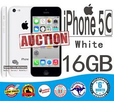 Apple iPhone 5C 16GB WHITE Smartphone 4G like NEW UNLOCK FAST Shipping WARRANTY