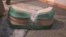 GREEN HELLA MAGIC COLORS TAIL LIGHTS MK4 GOLF (damaged, see pictures)