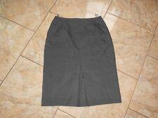 D7700 sylbo faldas Woll rock 44 grises jaspeadas bien