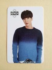Super Junior COEX Artium SUM Official LIMITED PHOTO CARD Photocard - Leeteuk