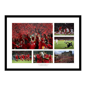 Liverpool 2005 Champions League Final Photo Memorabilia (MU6)