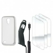 Xqisit-Case en TPU, d'écran, chargeur voiture pour Samsung SII