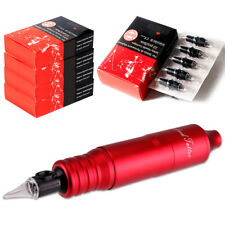 Rotary Tattoo Pen Machine Set Makeup  50pcs Needles Cartridges EM105B50-2