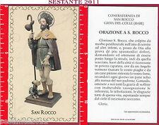 2076 SANTINO HOLY CARD S. SAN ROCCO ORAZIONE GIOIA DEL COLLE BA