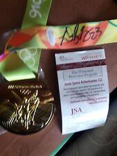 Draymond Green Warriors Signed 2016 Rio Gold Medal - Witness - JSA