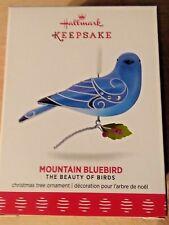 Hallmark 2017 Keepsake Ornament Mountain Bluebird 13th in Beauty of Birds Series